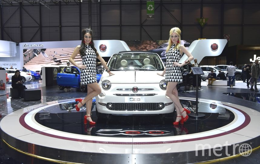 Автосалон в Женеве-2017. Fiat 500 Sessantesimo. Фото Getty