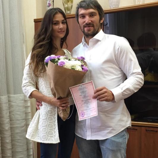 Анастасия и Александр Овечкины. Фото Все фото: Instagram Анастасии Шубской