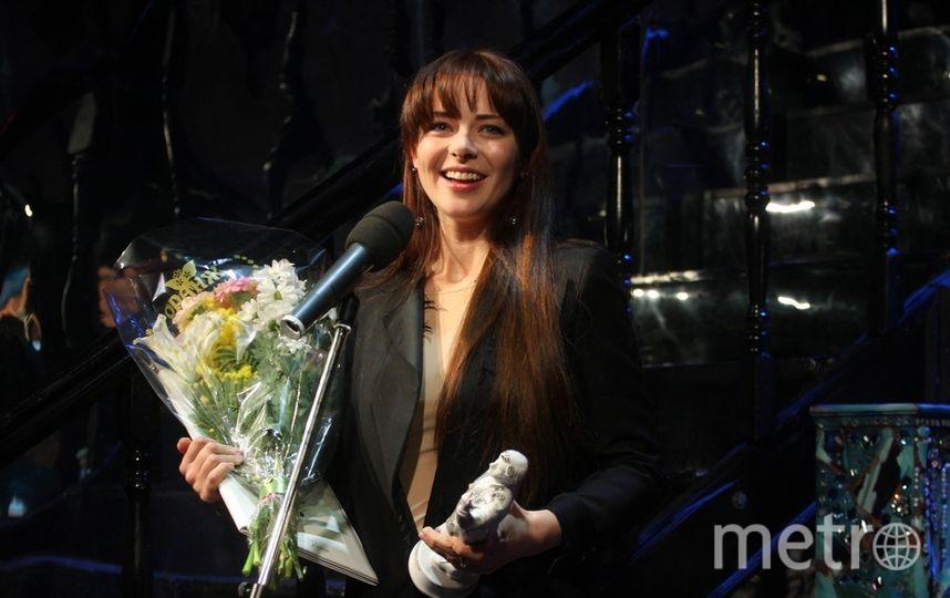 """Марина Александрова поблагодарила жюри за высокую честь. Фото Михаил Садчиков-младший, """"Metro"""""""