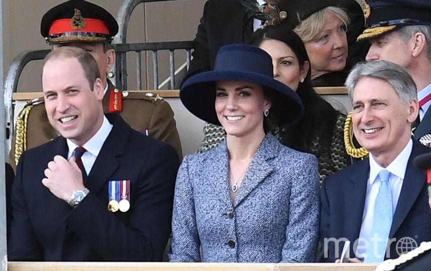 Кейт Миддлтон и принц Уильям на открытии военного мемориала. Фото Getty