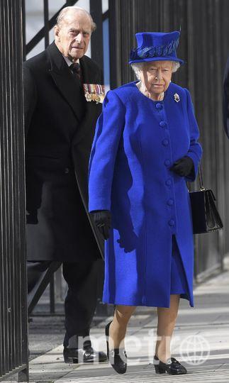 Принц Филипп и королева Елизваета II. Фото Getty