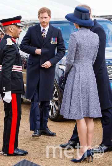 На открытии военного мемориала. Фото Getty