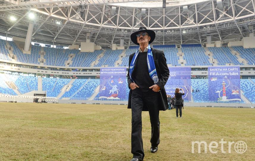 """Первый матч на новом стадионе пройдёт 23 апреля. Фото Святослав Акимов, """"Metro"""""""