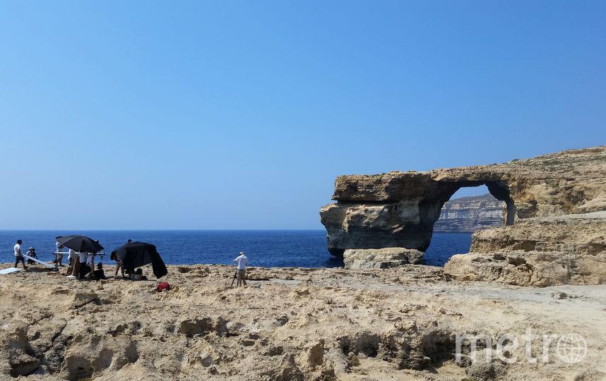 Знаменитая арка. Фото AFP
