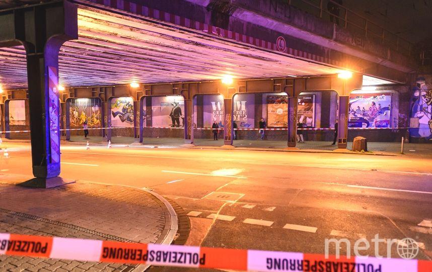 Атака с топором: появились первые фото с вокзала Дюссельдорфа. Фото Getty