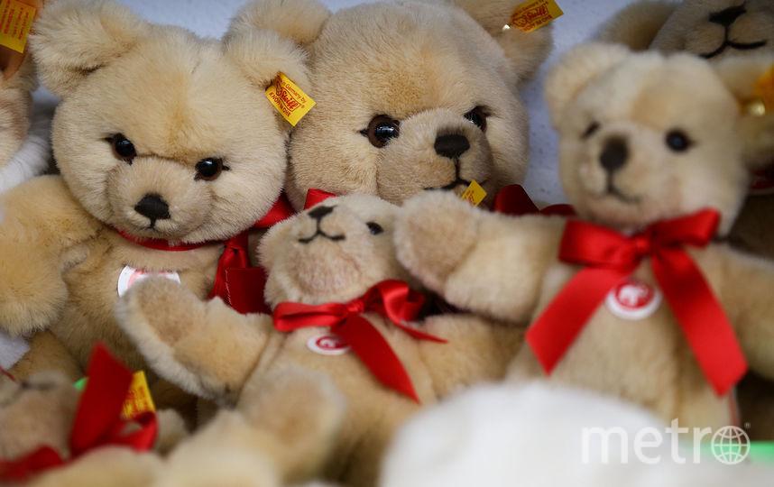 ВПетербурге найден похититель плюшевого медведя