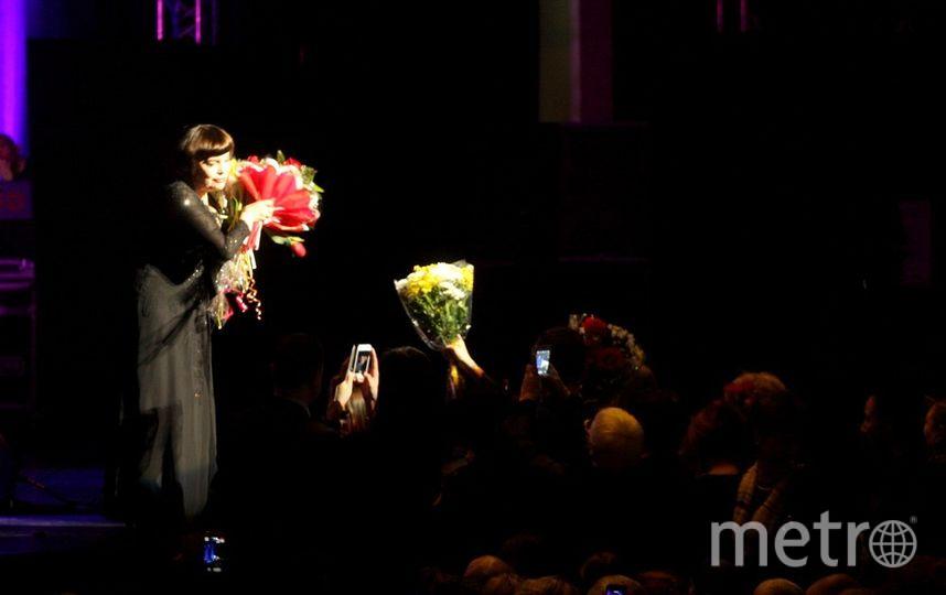 """концерт знаменитой французской певицы Мирей Матье прошел в Петербурге. Фото Михаил Садчиков-младший, """"Metro"""""""