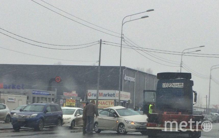 """ДТП и ЧП / Санкт-Петербург"". Фото Евгений Свечин, vk.com"