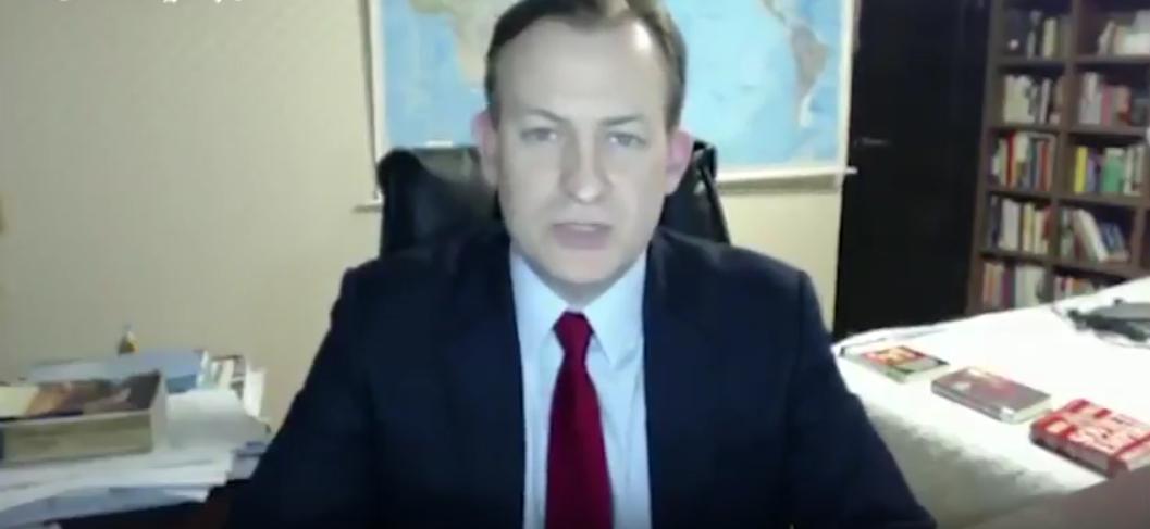 Курьёз в прямом эфире. Фото Скриншот Youtube