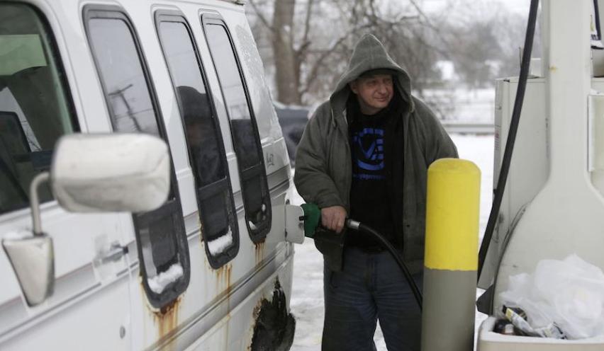 Россия приостановила прокачку дизтоплива на Украину. Фото Getty