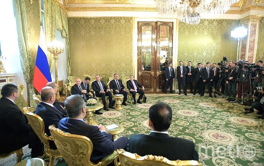 Встреча Владимира Путина и Реджепа Эрдогана в Москве. Фото kremlin.ru