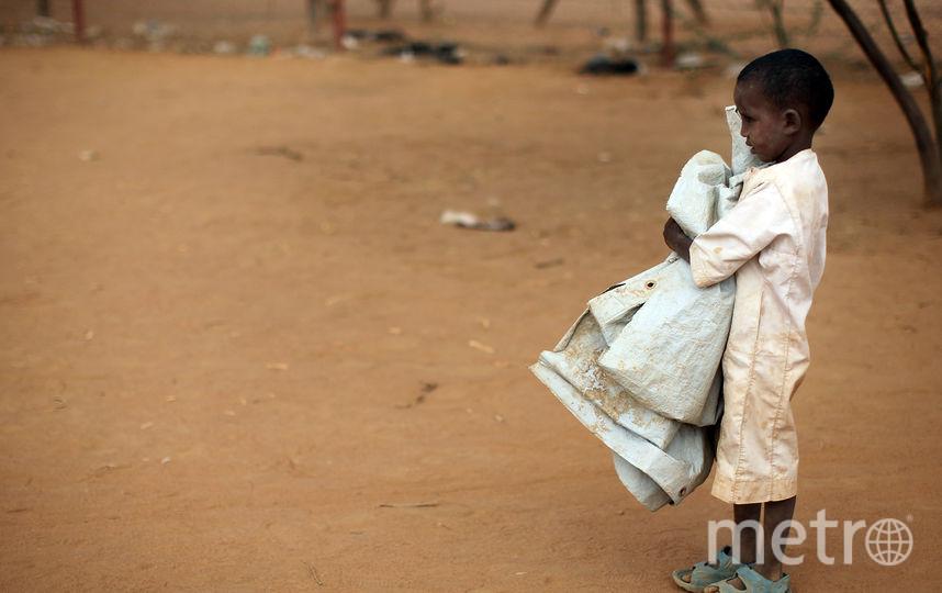 Африканский ребёнок. Фото Getty