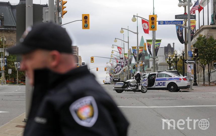 Полиция Канады. Фото Getty