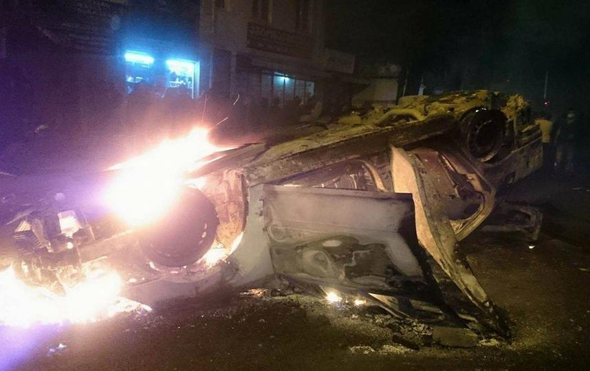 В беспорядках в Батуми пострадало более 20 человек. Фото Скриншот Youtube