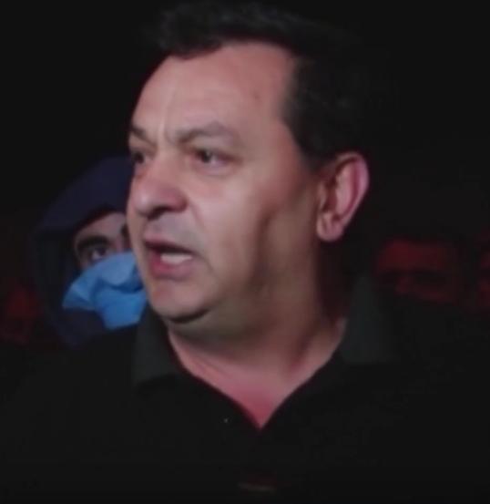 Оштрафованный Рамаз Химшиашвили. Фото Скриншот Youtube