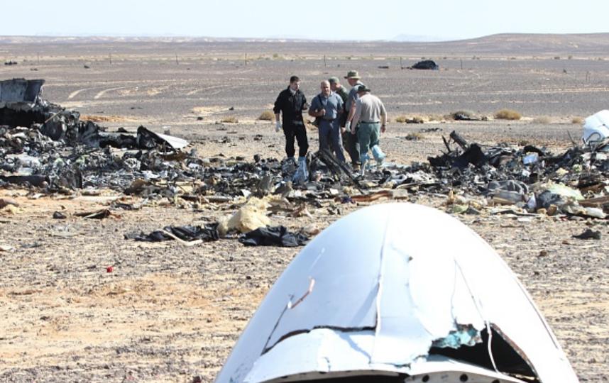 Вовзрыве А321 над Синаем признался нетрезвый гражданин Петербурга