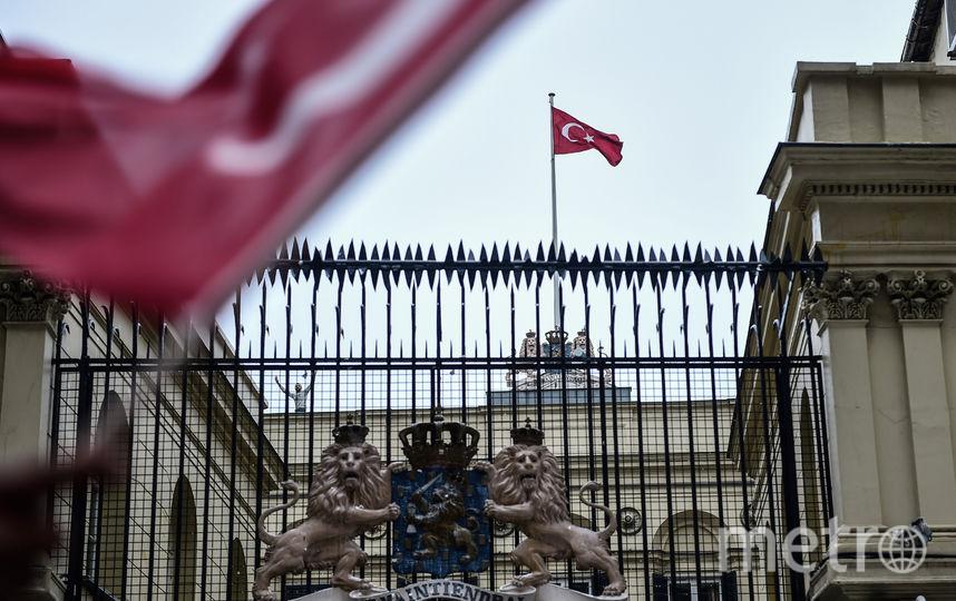 Консульство Нидерландов в Стамбуле. Фото AFP