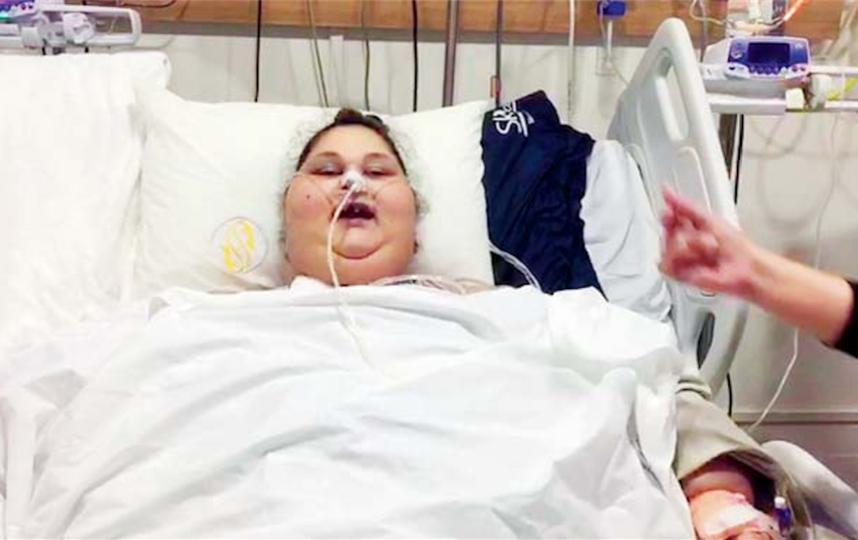 Самая тяжелая женщина вмире станцевала после операции