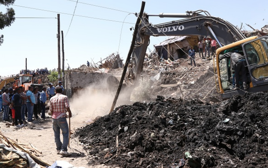 В Эфиопии под завалами мусора погибло 35 человек. Фото Getty