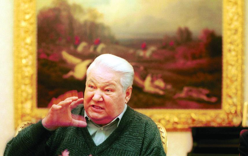 Борис Ельцин. Фото Getty