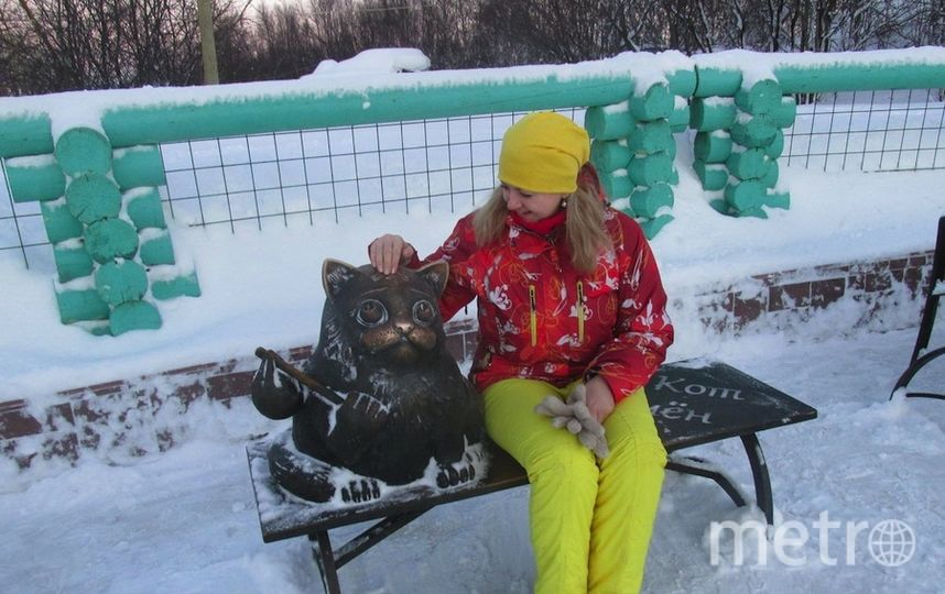 Памятник Коту Семёну в Мурманске. Фото Валентина Никифорова