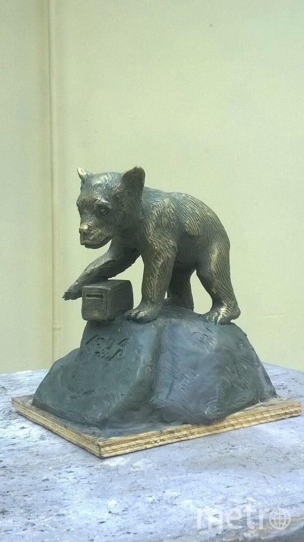 """Макет скульптуры медвежонку Сене уже готов. Фото предоставлены центром """"Велес"""""""
