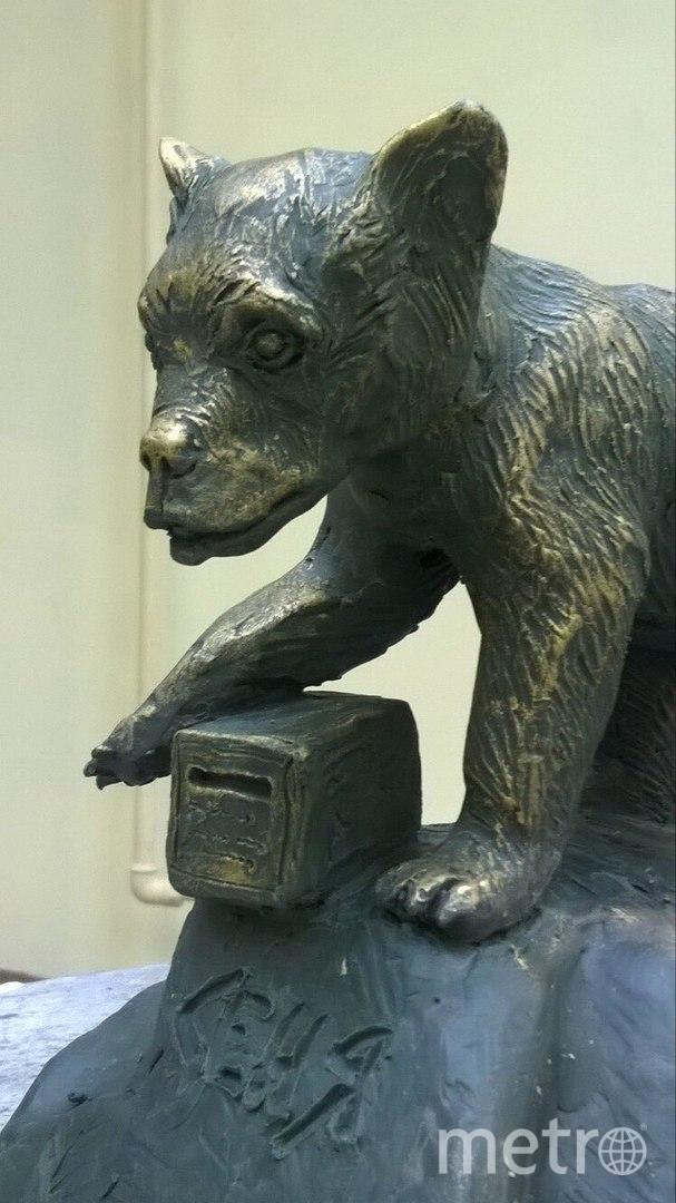 Макет скульптуры медвежонку Сене уже готов.