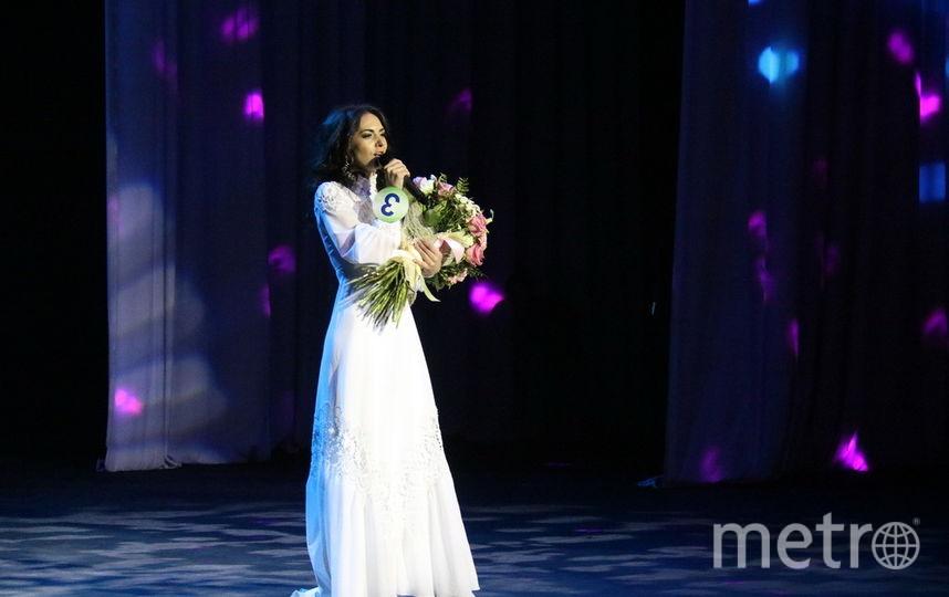 Юлия на конкурсе. Фото МВД России по Новосибирской области