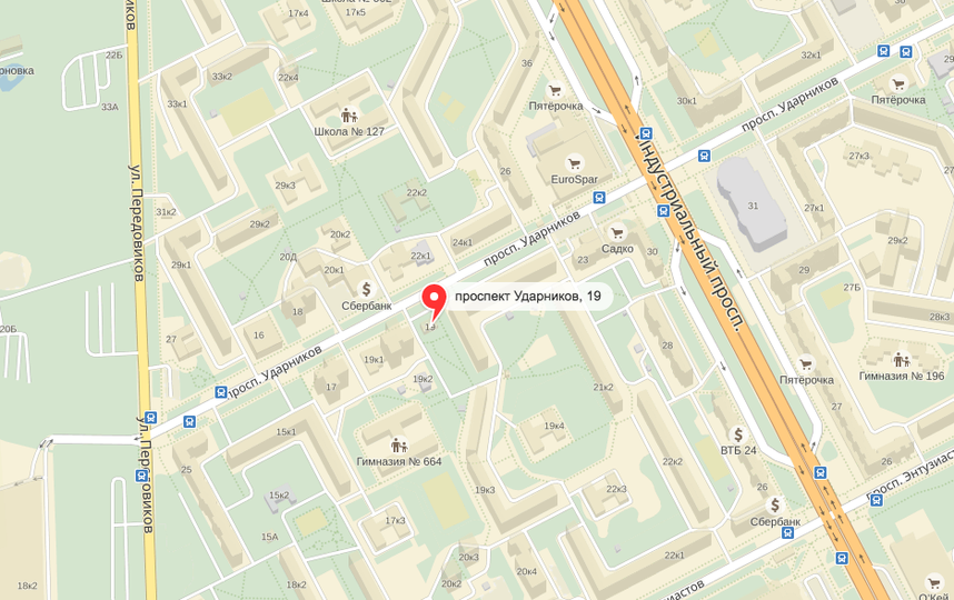"""Скриншот """"Яндекс.Карты""""."""