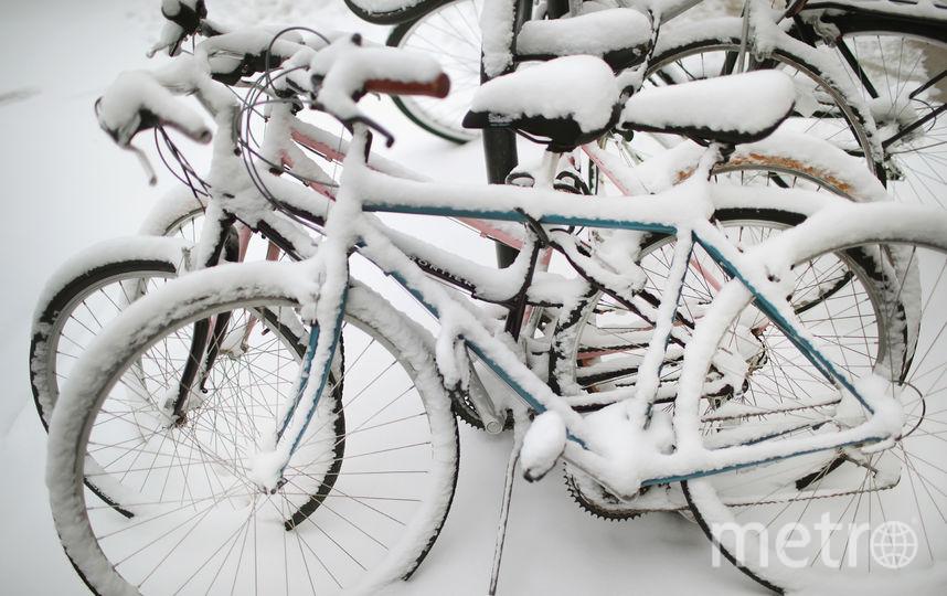 Снежный шторм 13 марта обрушился на Чикаго. Фото Getty