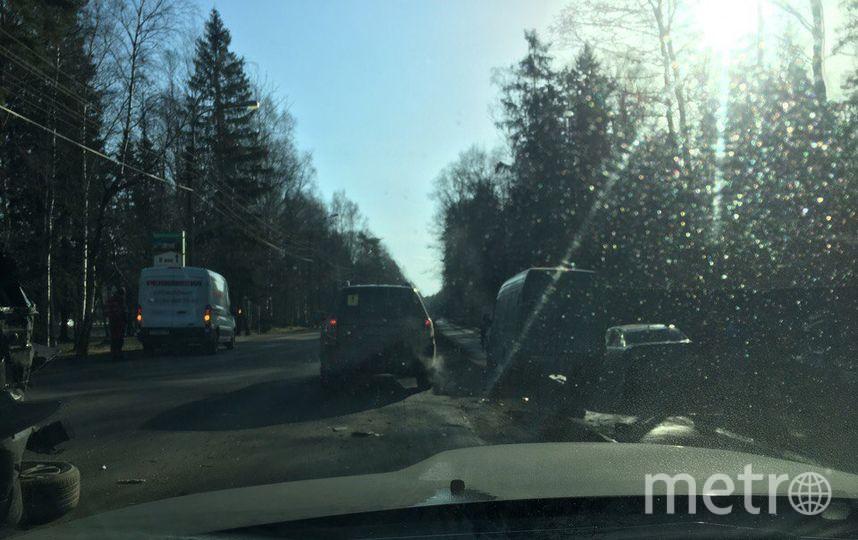 В трагедии смаршруткой вПетербурге пострадали три человека