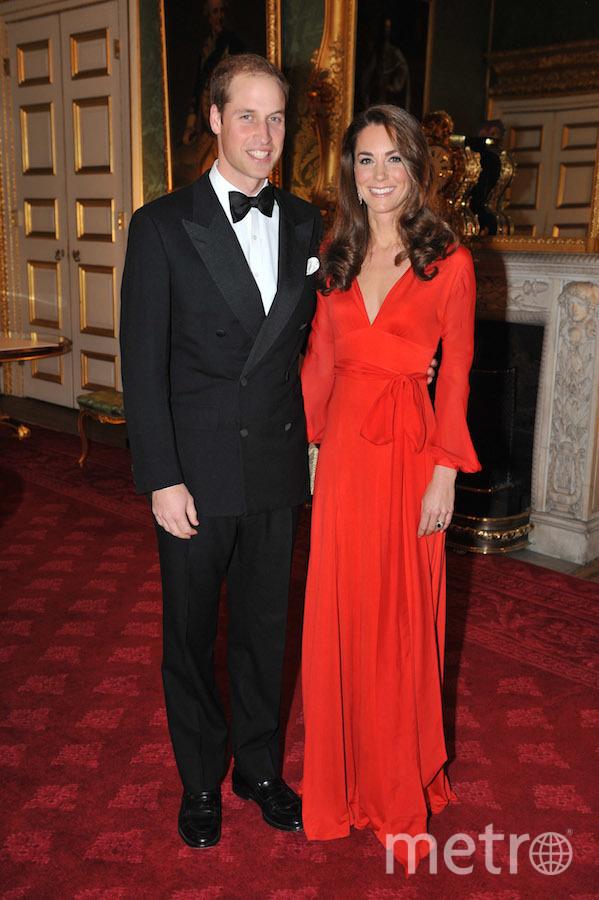 Уильян с женой Кэтрин. Фото Getty