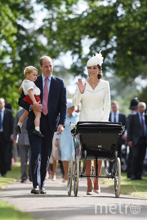 Уильян с женой Кэтрин и детьми. Фото Getty