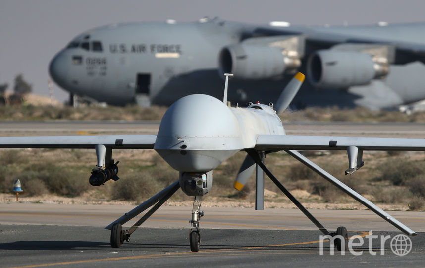 """Американский многоцелевой беспилотный летательный аппарат """"Хищник"""". Фото Getty"""
