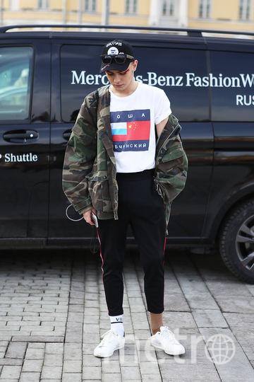 Стритстайл MBFW. Гости Недели Моды в Москве. Фото Маргарита Лемешко