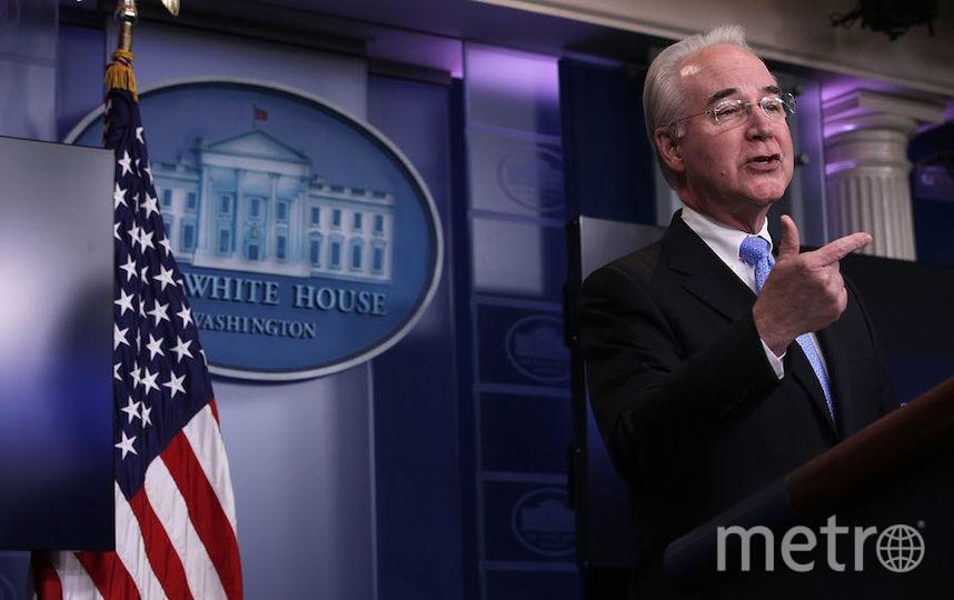 Министр здравоохранения Том Прайс. Фото Getty