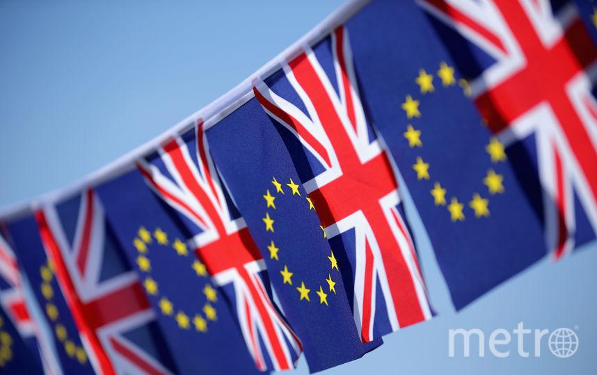 Флаги Великобритании и ЕС. Фото Getty