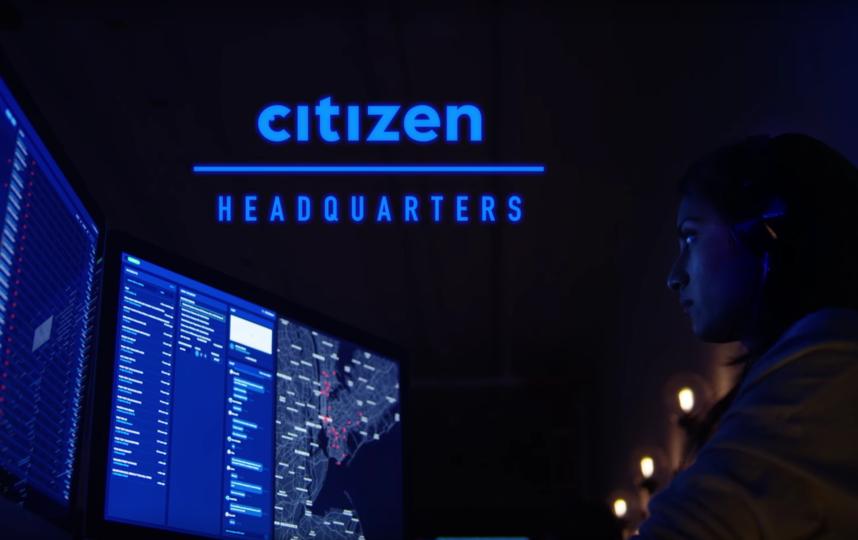 """Приложение """"Гражданин"""". Фото Citizen., Скриншот Youtube"""