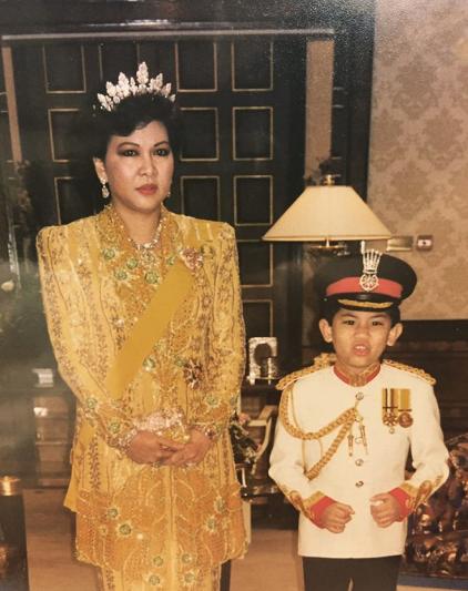 Брунейский принц Абдул Матин с мамой. Фото Instagram/tmski