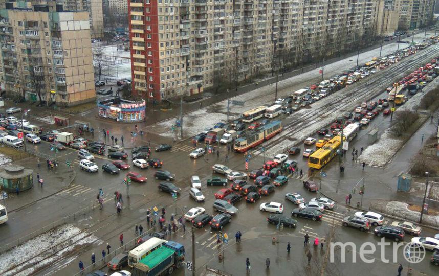 Из-за обрыва проводов врайоне Шафировского ограничено движение