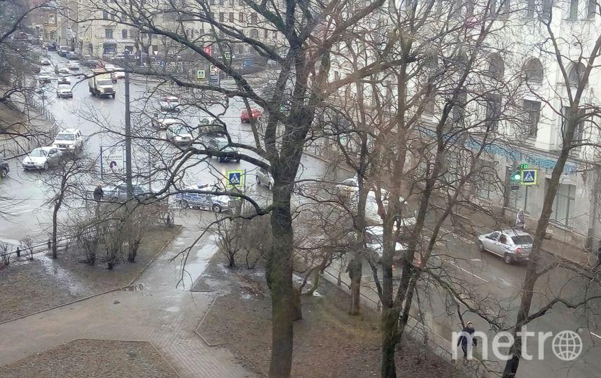 Очевидцы: В Петербурге мальчика сбили на пешеходном переходе. Фото «ДТП и ЧП | Санкт-Петербург», vk.com