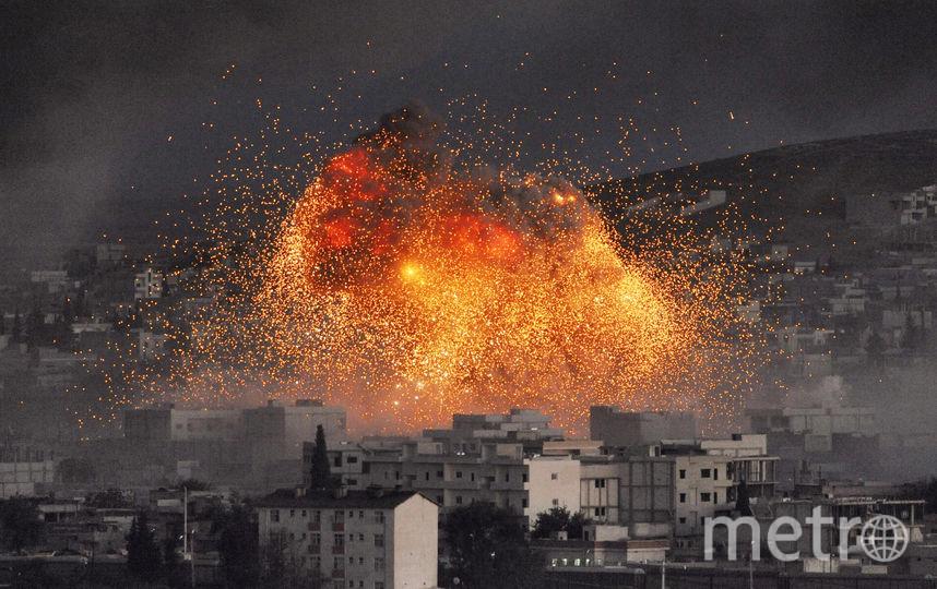 Взрыв в Сирии. Архивное фото. Фото Getty
