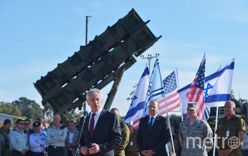 """ЗРК """"Патриот"""" в Израиле. Фото Getty"""