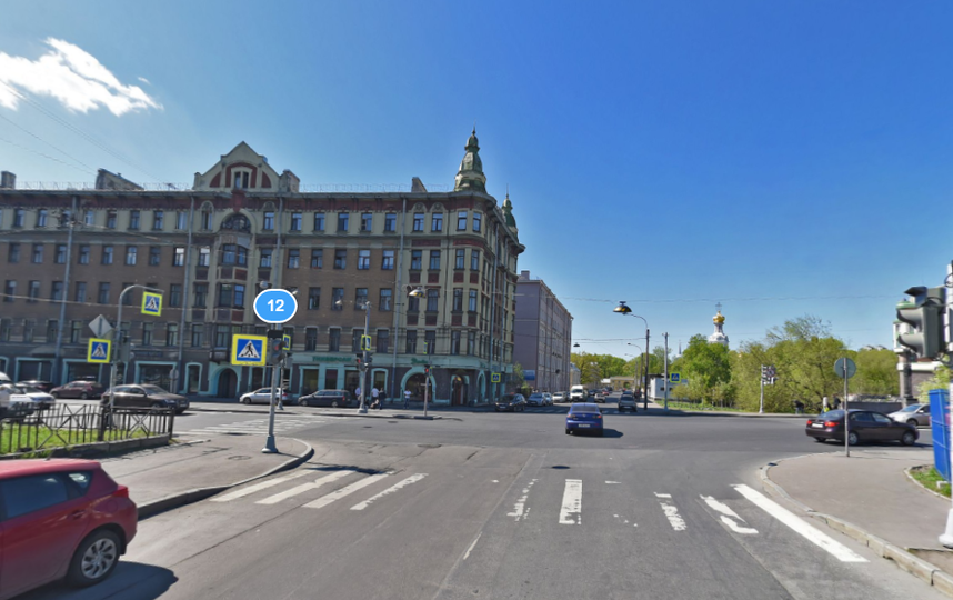 Камская улица. Яндекс.Панорамы.