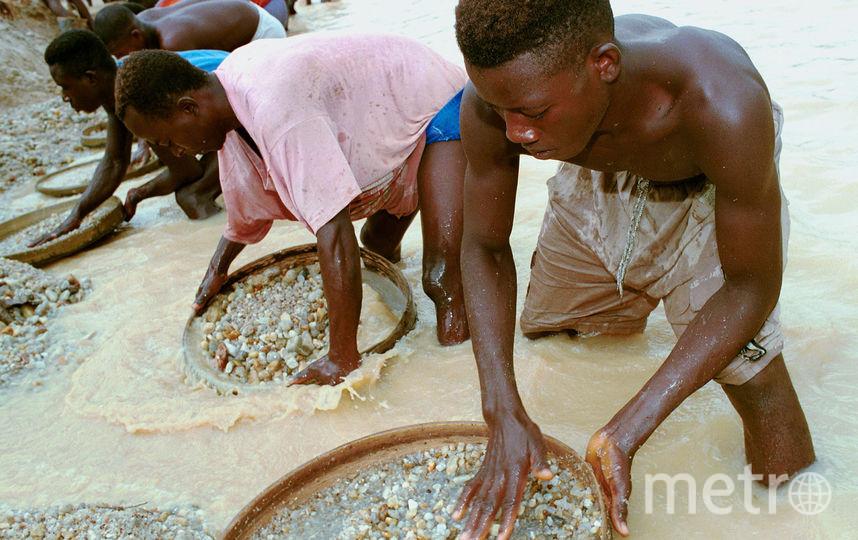 ВСьерра-Леоне найден один изкрупнейших алмазов вмире