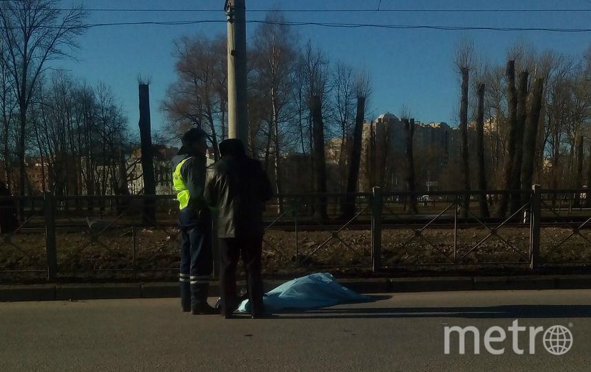 """""""ДТП и ЧП / Санкт-Петербург"""". Фото Роман Сталюков, vk.com"""
