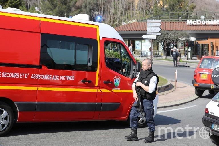 Фото с места происшествия. Фото AFP