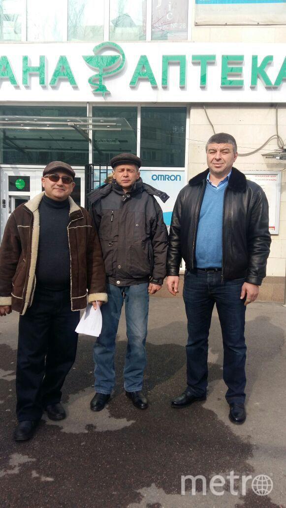 Слева направо: Александр Полуэктов, Юрий Образцов, Расул Байрамуков. Фото предоставлено Тамарой Полуэктовой