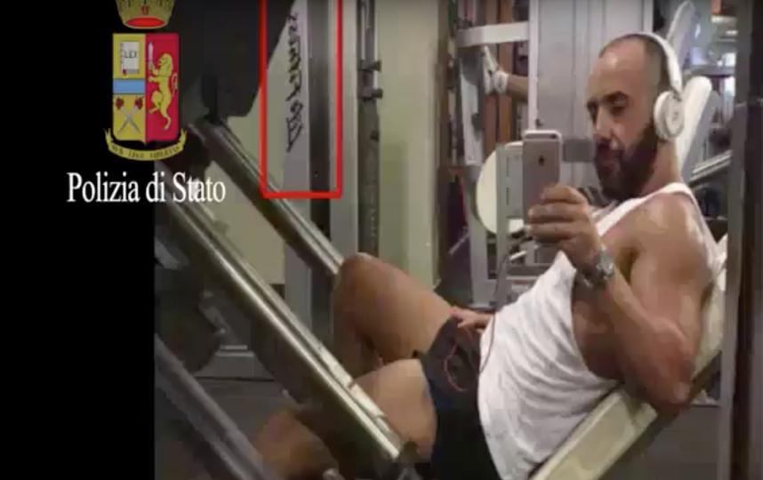 Итальянский наркобарон Иван Форнари. Фото Скриншот Youtube