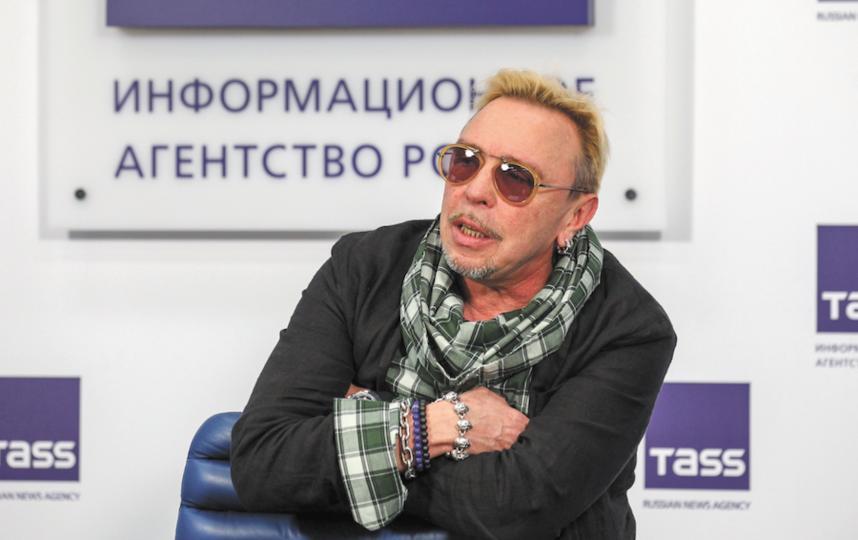 Гарик Сукачёв. Фото Василий Кузьмичёнок.